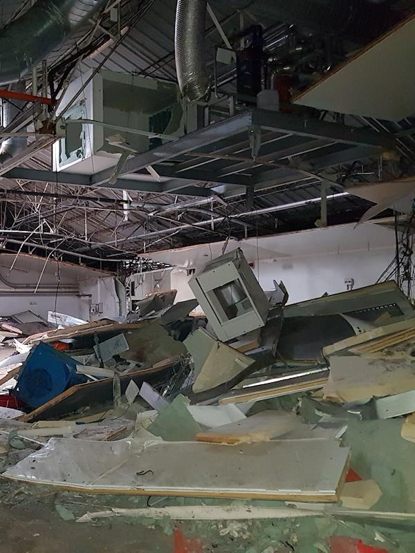 Diagnostic des déchets issus de la démolition